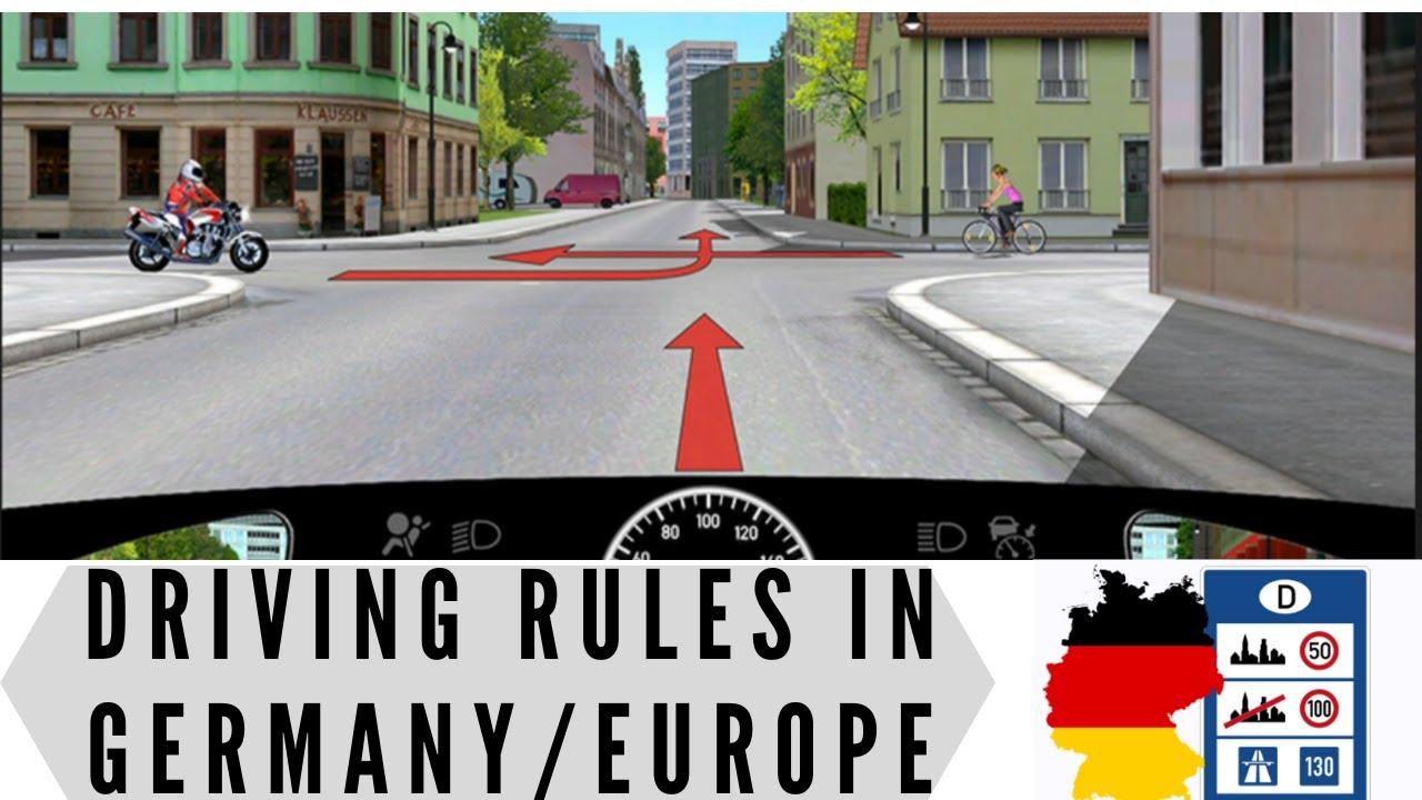 Driving in Germany | Driving in Europe Rules | Driving Test Germany |Driving Deutschland Englisch