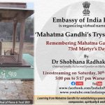 Remembering Mahatma Gandhi on his 73rd Martyr's Day by Embassy of Poland