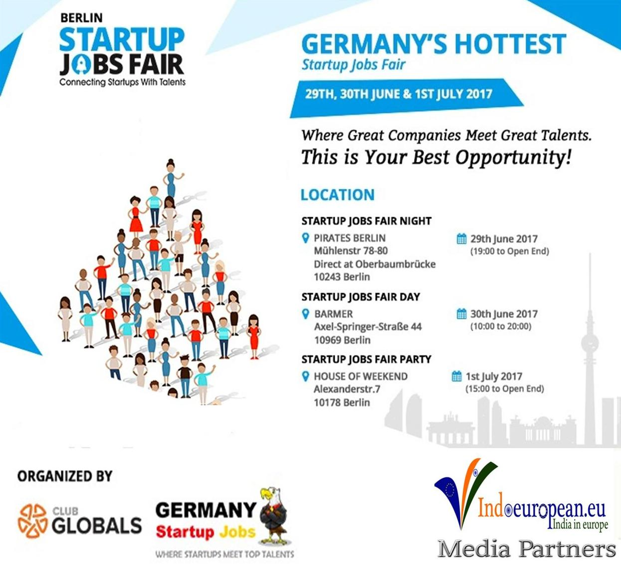 Germanys hottest startup job fair   Indoeuropean.eu