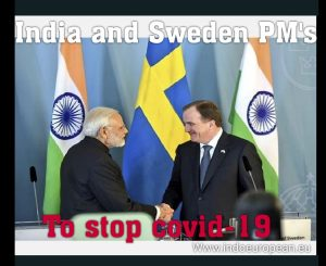 Sweden PM connected with India PM to fight against COVID-19